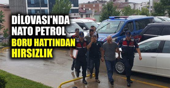 Dilovası'nda NATO petrol boru hattından hırsızlık