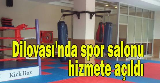 Dilovası'nda spor salonu hizmete açıldı