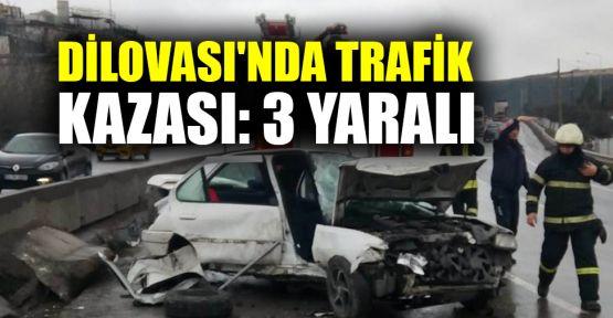 Dilovası'nda trafik kazası: 3 yaralı