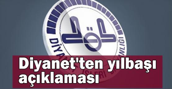 Diyanet'ten yılbaşı açıklaması