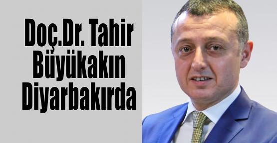 Doç.Dr. Tahir Büyükakın Diyarbakır'da