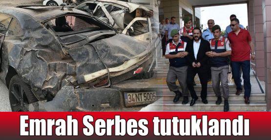 Emrah Serbes tutuklandı
