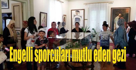 Engelli sporcuları mutlu eden gezi