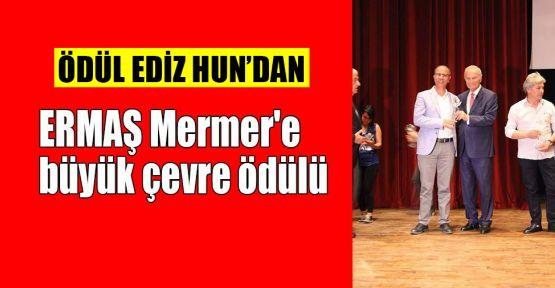 ERMAŞ Mermer'e büyük çevre ödülü