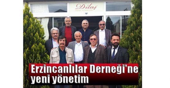 Erzincanlılar Derneği'ne yeni yönetim