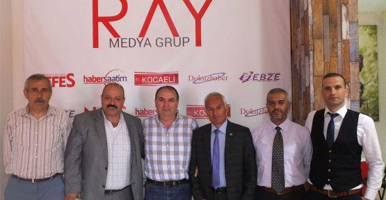 Erzincanlılar'dan gazetemize ziyaret