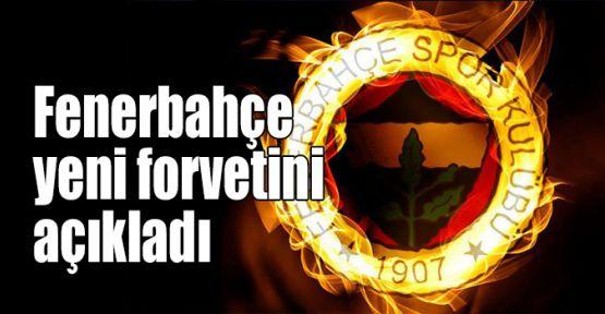 Fenerbahçe yeni forvetini açıkladı