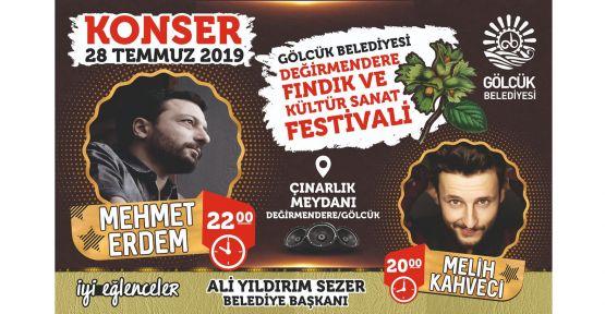 Fındık Festivali'nde ünlü sanatçılar sahne alacak