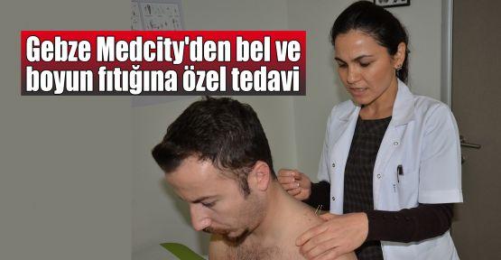 Gebze Medcity'den bel ve boyun fıtığına özel tedavi tekniği