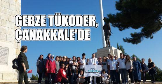 Gebze TükoDer, Çanakkale'de