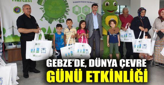 Gebze'de, Dünya Çevre Günü etkinliği