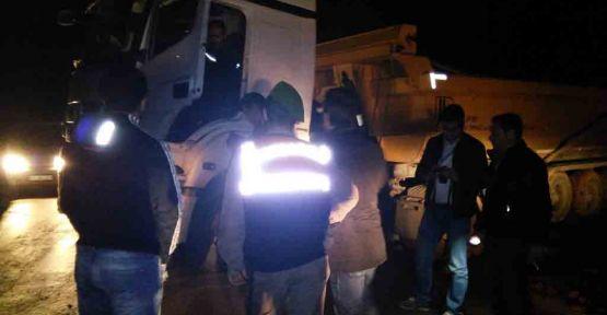 Gebze'de film gibi kaçak hafriyat operasyonu