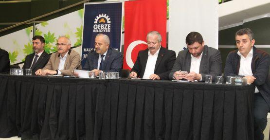 Gebze'de Mahalle Meclisleri hız kesmiyor