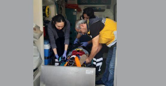 Gebze'de motosikletin çarptığı 5 yaşındaki çocuk yaralandı