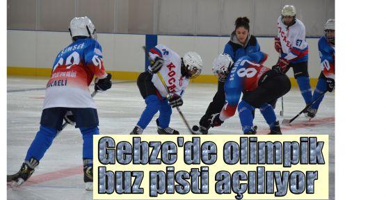 Gebze'de olimpik buz pisti açılıyor