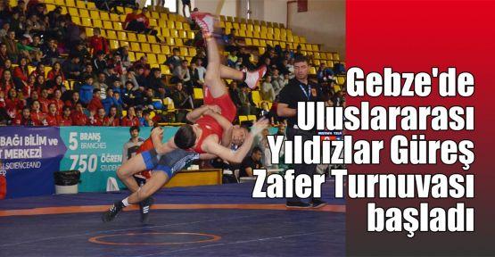 Gebze'de Uluslararası Yıldızlar Güreş Zafer Turnuvası başladı