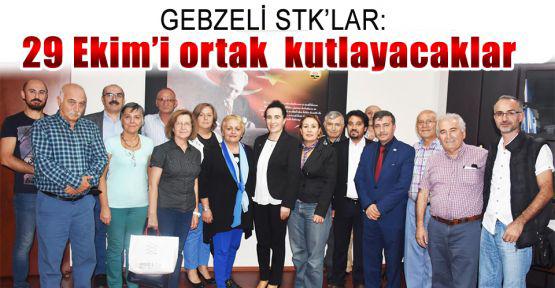 Gebze'deki STK'lar 29 Ekim'i ortak kutlayacaklar