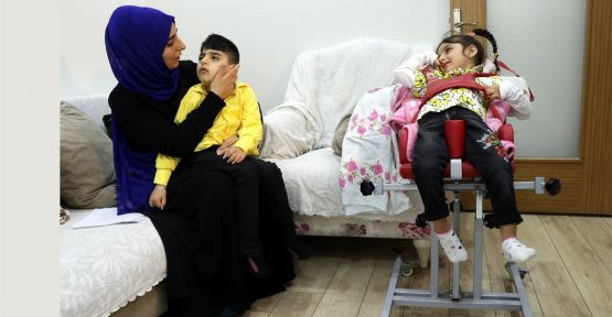 Gebzeli aile çocuklarının sağlığına kavuşacağı günü bekliyor
