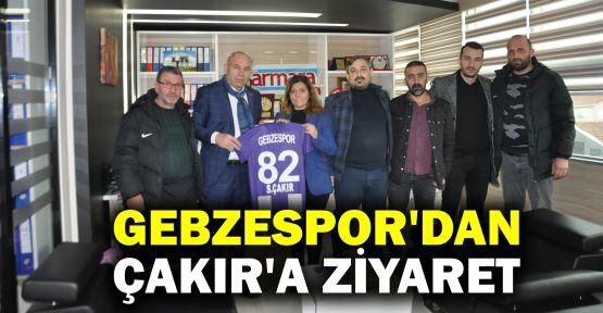 Gebzespor'dan, Serap Çakır'a ziyaret