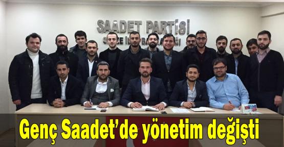 Genç Saadet'de yönetim değişti