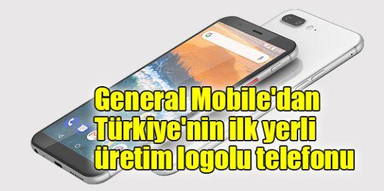 General Mobile'dan, Türkiye'nin ilk yerli üretim logolu telefonu