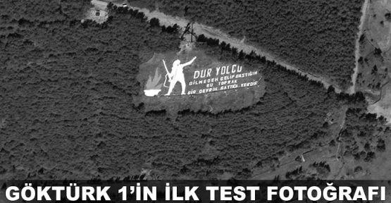 Göktürk 1'in ilk test fotoğrafı