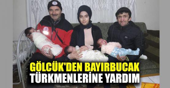 Gölcük'den Bayırbucak Türkmenlerine yardım