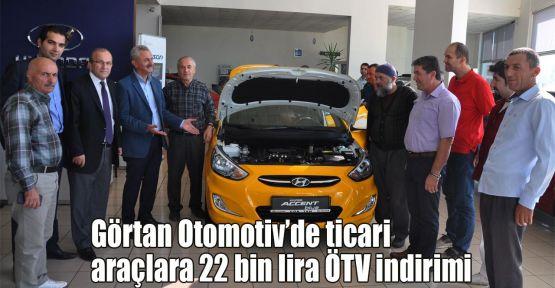 Görtan Otomotiv ÖTV indirimini tanıttı