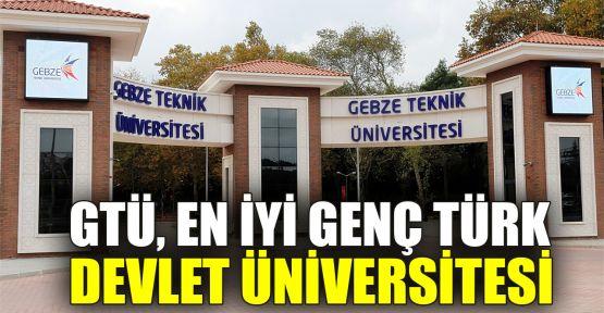 GTÜ, En İyi Genç Türk Devlet Üniversitesi