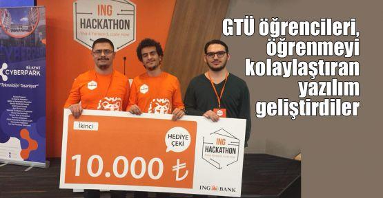 GTÜ öğrencileri, öğrenmeyi kolaylaştıran yazılım geliştirdiler