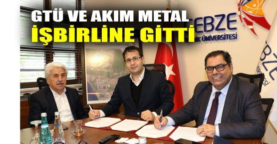 GTÜ ve Akım Metal işbirliğine gitti