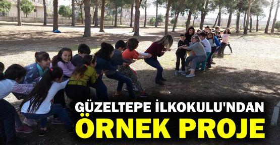 Güzeltepe İlkokulu'ndan örnek proje
