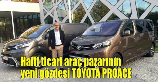 Hafif ticari araç pazarının yeni gözdesi Toyota Proace