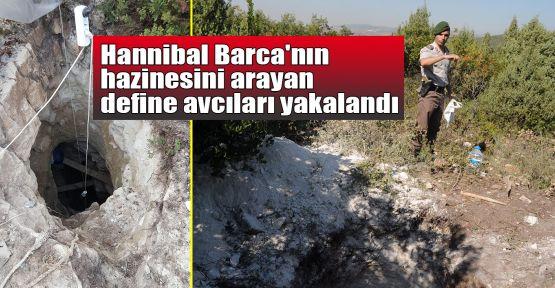 Hannibal Barca'nın hazinesini arayan define avcıları yakalandı
