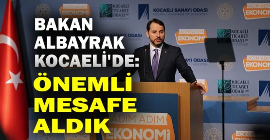 Hazine ve Maliye Bakanı Albayrak Kocaeli'de