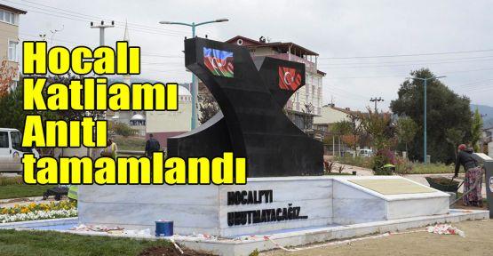 Hocalı Katliamı Anıtı tamamlandı