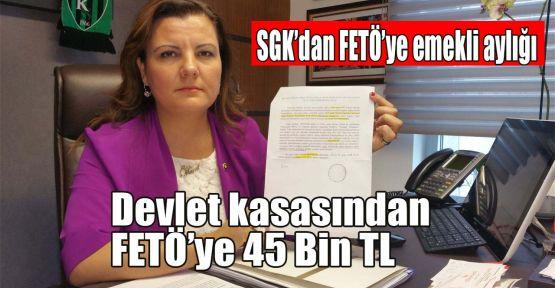 Hürriyet: Devlet kasasından FETÖ'ye 45 Bin TL