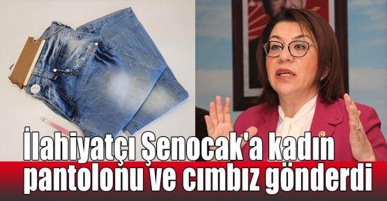 İlahiyatçı Şenocak'a kadın pantolonu ve cımbız gönderdi