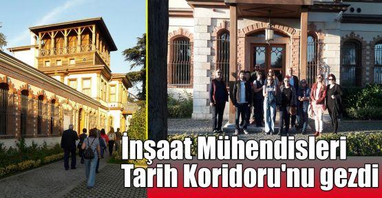 İnşaat Mühendisleri Tarih Koridoru'nu gezdi