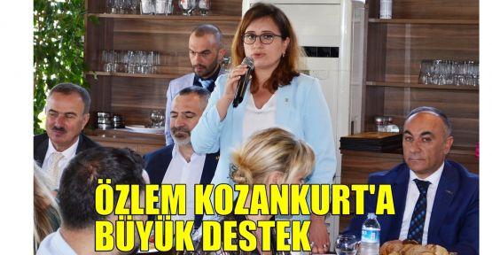 İş dünyası, KAI ve siyasetçilerden Özlem Kozankurt'a büyük destek