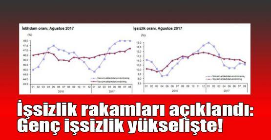 İşsizlik rakamları açıklandı: Genç işsizlik yükselişte!