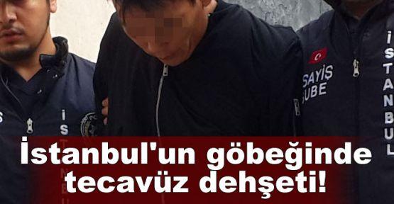 İstanbul'un göbeğinde tecavüz dehşeti