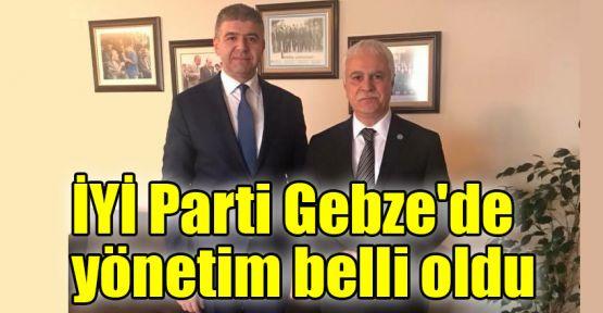 İYİ Parti Gebze'de yönetim belli oldu
