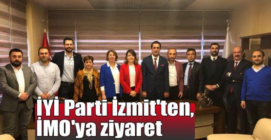 İYİ Parti İzmit'ten, İMO'ya ziyaret