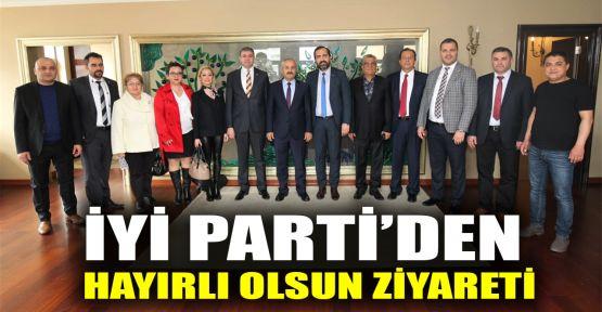 İYİ Parti'den hayırlı olsun ziyareti