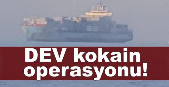 İzmit limanında dev kokain operasyonu!