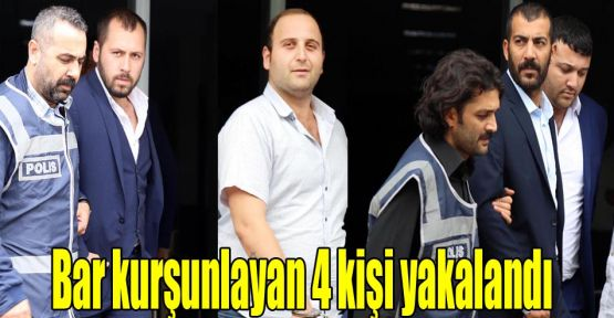 İzmit'te bar kurşunlayan 4 kişi yakalandı