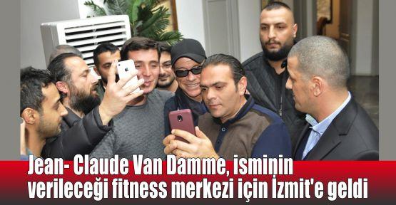 Jean- Claude Van Damme, isminin verileceği fitness merkezi için İzmit'e geldi