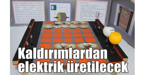 Kaldırımlardan elektrik üretilecek