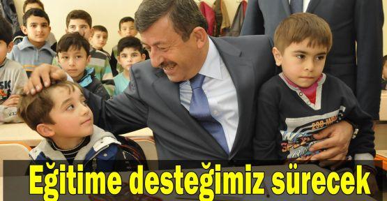 Karabacak: Eğitime desteğimiz sürecek